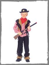 Cowboy Jungenkostüm vom Horror-Shop.com