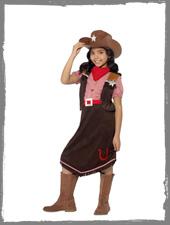 Cowgirl Mädchenkostüm vom Horror-Shop.com