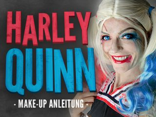 Harley Quinn Schminkanleitung