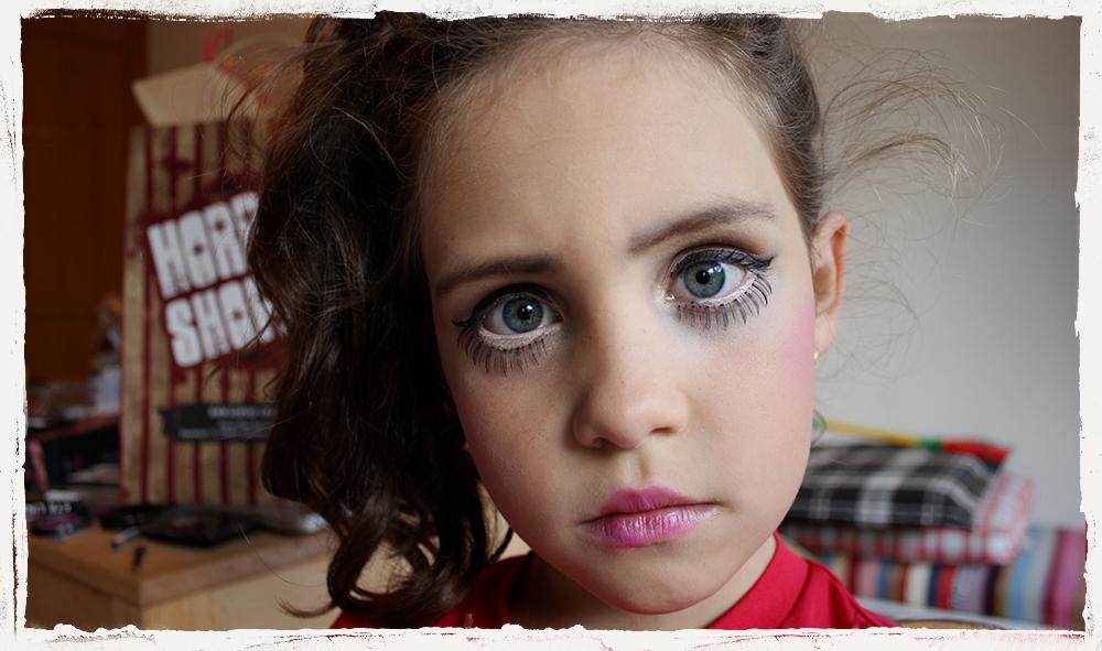 Puppengesicht Schminkanleitung Fur Kinder Horror Shop Com Magazin