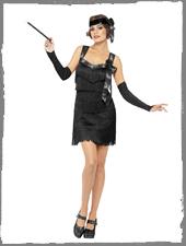 20er Jahre Flapper Kostüm