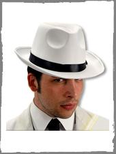 Mafia Hut Weiß