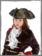 Piraten Kostümzubehör im Horror-Shop.com