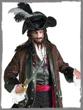 Piratenkostüm für Herren im Horror-Shop.com