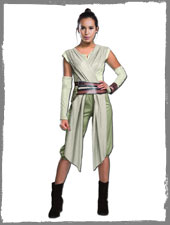 Star Wars VII Rey Damenkostüm