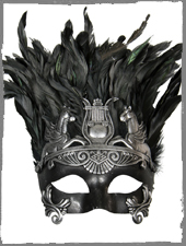 Antike Augenmaske