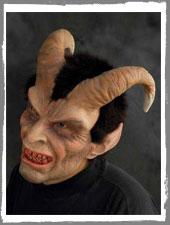 Elegant Devil Krampus Maske