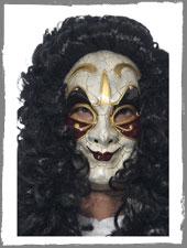 Venezianische Straßenräuber Maske