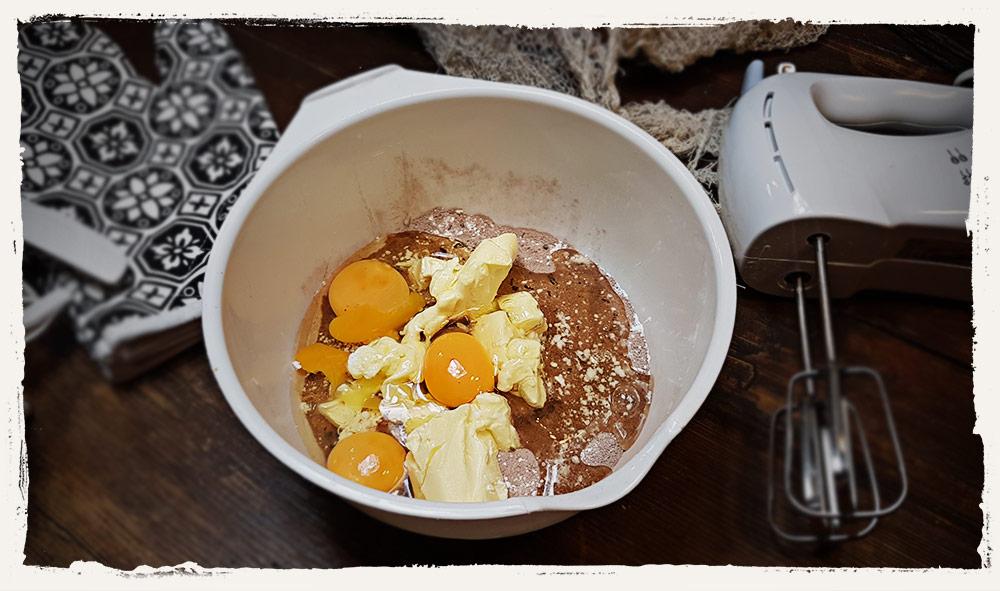Saw Blutbad Kuchen Rezept - Schritt 2