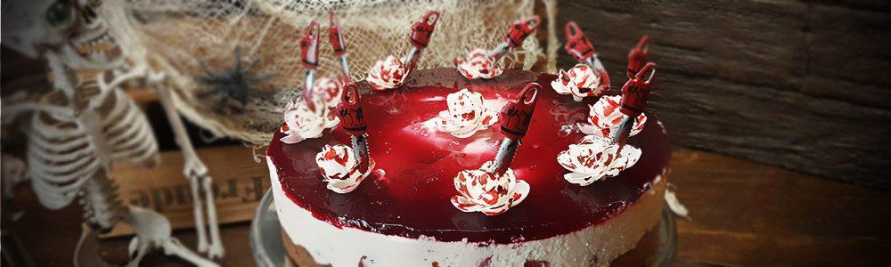SAW Blutbad Kuchen Halloween Rezept