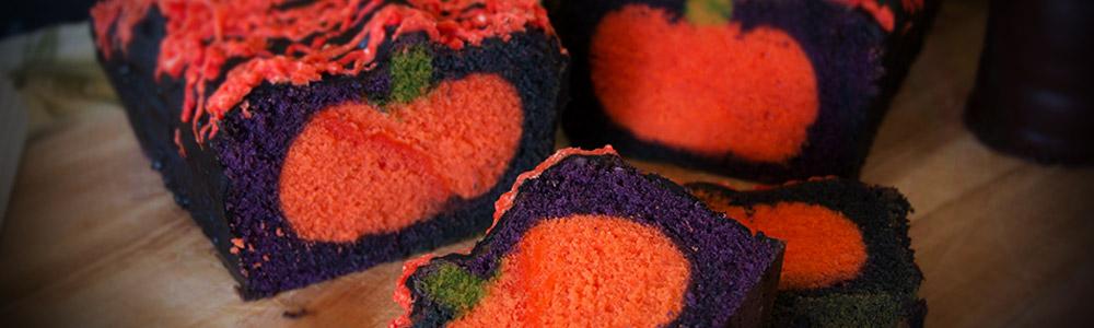 Halloween Kürbis Motiv Kuchen Rezept