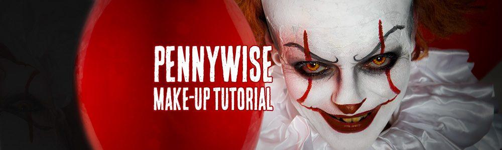 Pennywise Schminkanleitung Video Tutorial Horror Shop Com Magazin