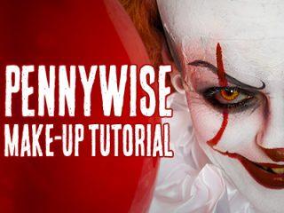 Pennywise Halloween Schminkanleitung