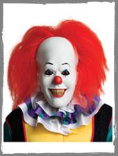 Pennywise Horror Clown Maske