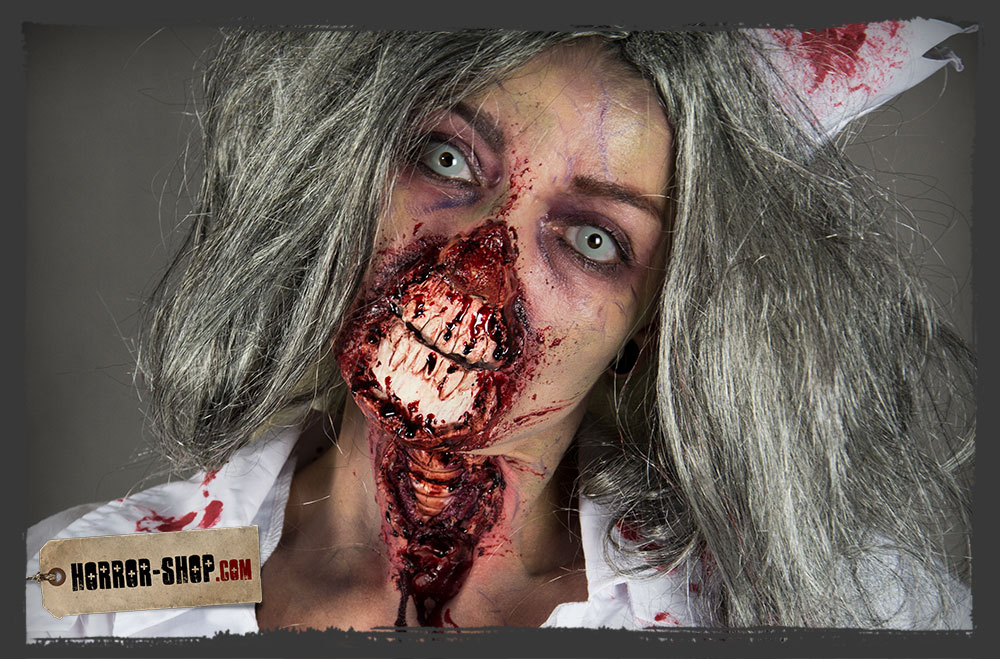 Zombie Schminkanleitung - Halloween Make-Up