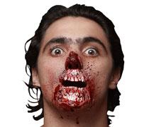 Zombie Kiefer Wunde