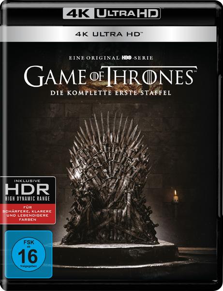 Gewinnspiel zu Game of Thrones (Staffel 1) in 4K UHD