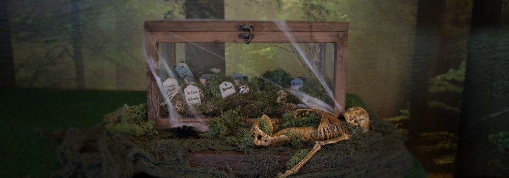 Halloween Friedhof Basteln Halloween Dekoration Diy