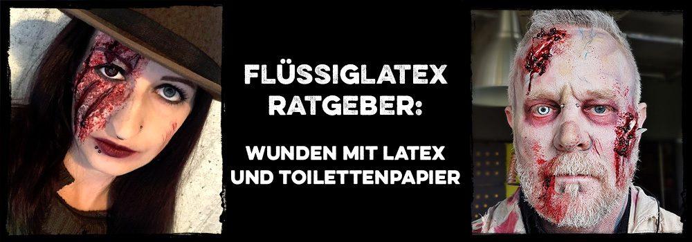 Ratgeber: Wunden Aus Flüssiglatex Und Toilettenpapier