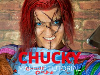 Chucky Make Up Tutorial