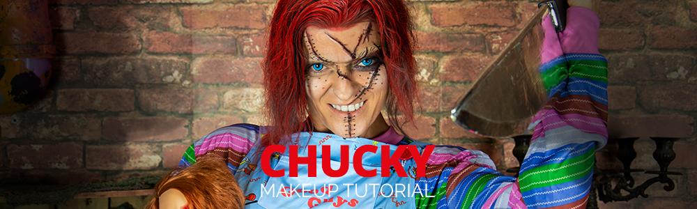 Chucky Make Up Tutorial