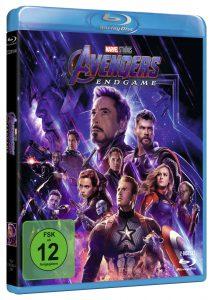 Avengers: Endgame Gewinnspiel Blu-ray
