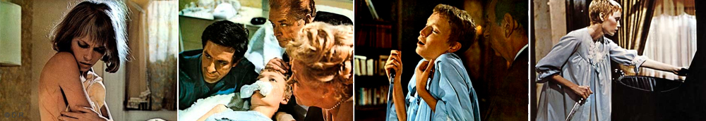"Szenen aus dem Horrorfilm ""Rosemary's Baby"""