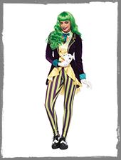 Wicked Trickster Damenkostüm für Halloween