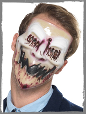 Blutige Serienkiller Halloween Maske