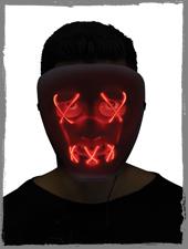 LED Maske für Halloween