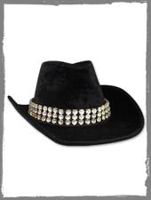 Glitzer Cowboyhut