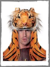 Tiger Kopfschmuck
