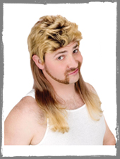 Vokuhila Blond