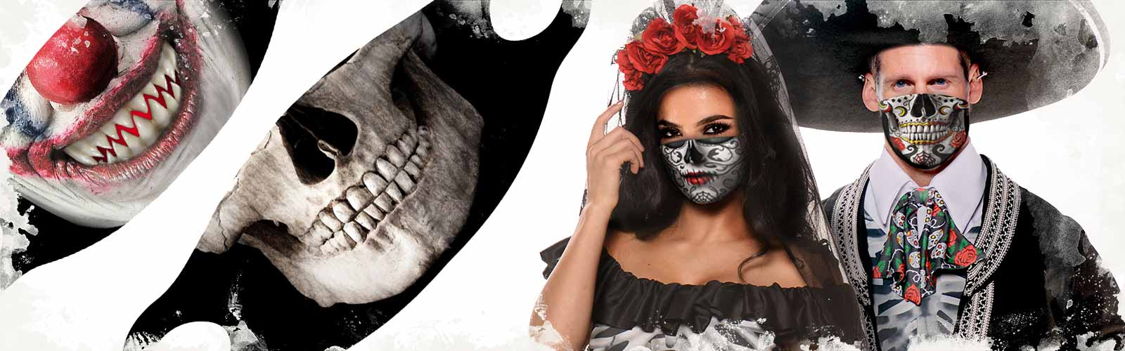 Halloween Trends 2020 - Halloween Mundmasken