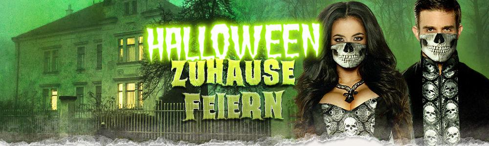 Halloween zuhause feiern