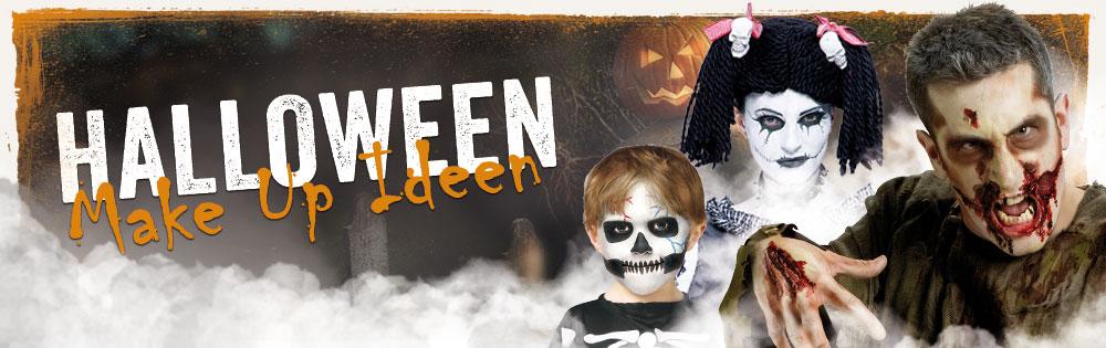 halloween make up ideen horror. Black Bedroom Furniture Sets. Home Design Ideas