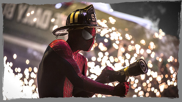 The Amazing Spider Man 2 - Competition for film release