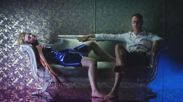 The Neon Demon - Elle Fanning and Nicolas Winding Refn