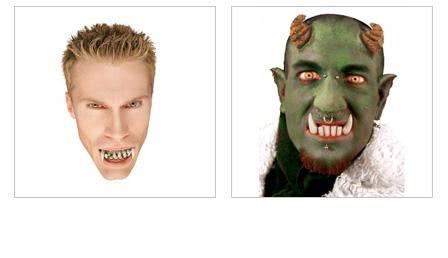 Horror Zähne
