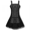 Pinstripe dress M / 38