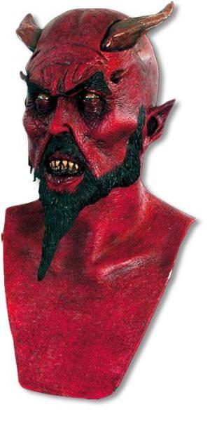 latex devil masks