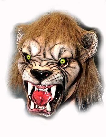 printable halloween lion masks
