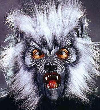 Killer Werwolf Maske