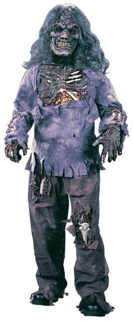 Zombie Deluxe Kinderkostüm Large