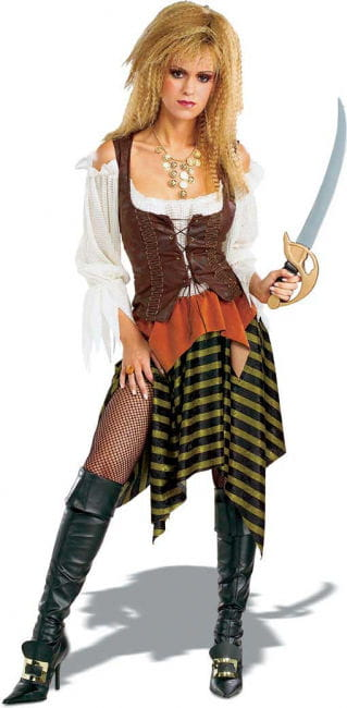 Carribean Pirate Bride Costume