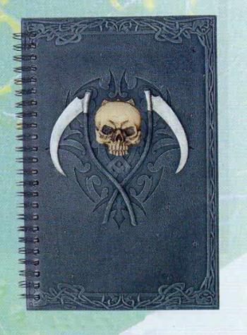 Halloween Guest Book Skull