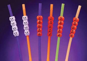 Halloween Knick straws