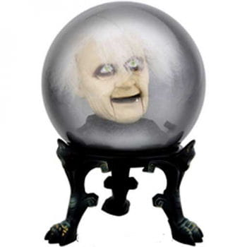 Crystal Ball Dr. Shivers with Speech Recorder