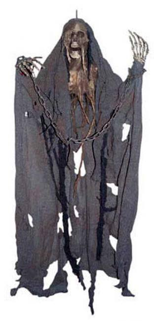 Rotten Hanging Gauze Skeleton