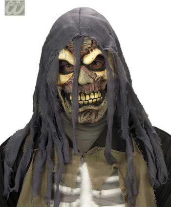 Verrottete Fetzen-Zombiemaske